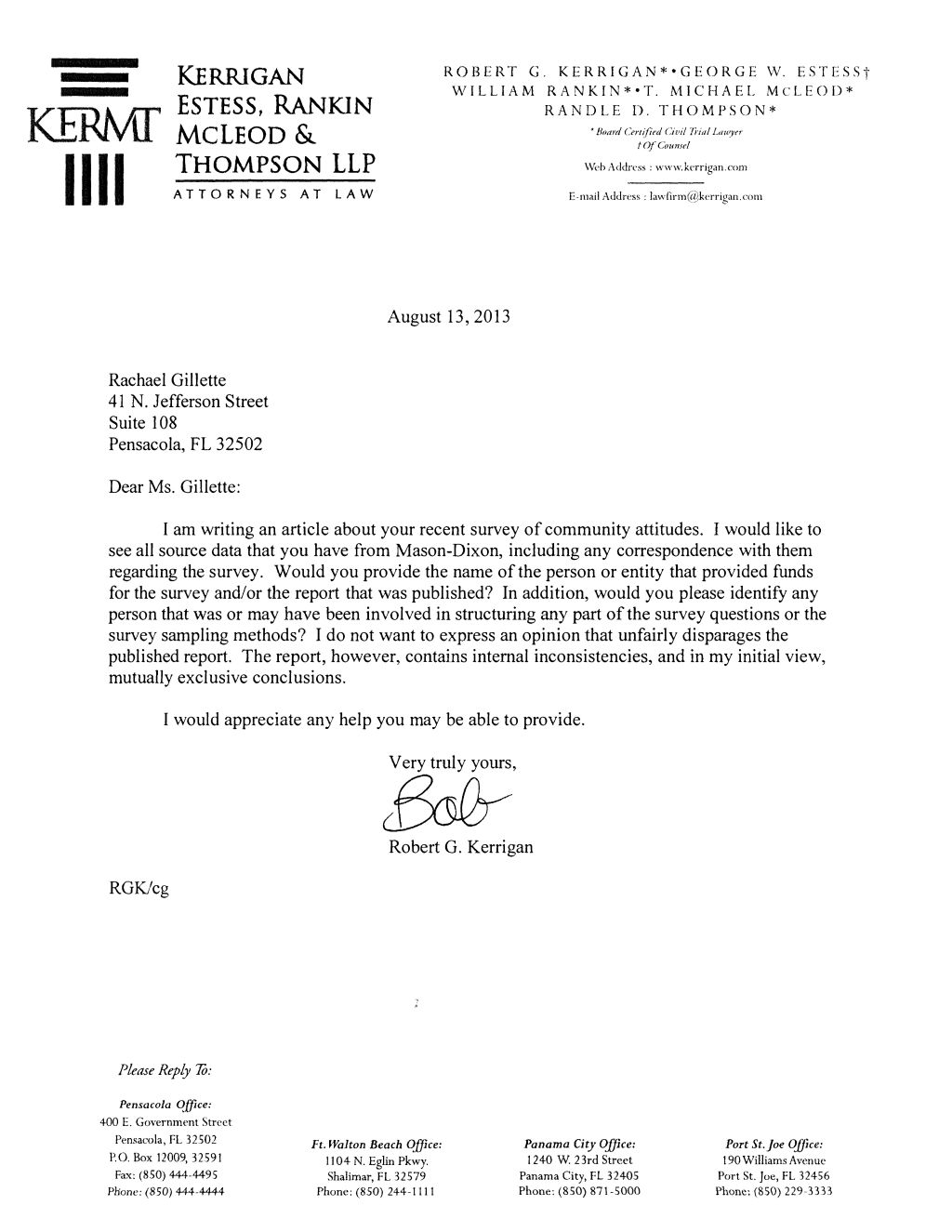 Pensacola young professionals refusal to disclose community issues pyp 8 13 13 kerrigan request letter altavistaventures Image collections