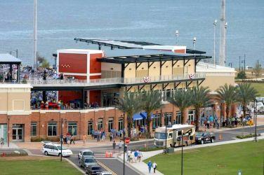 Community Maritime Park shops Pensacola Florida