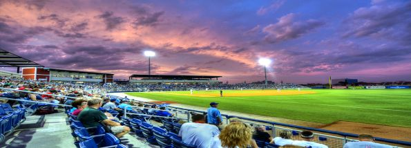 Pensacola Blue Wahoos night home game