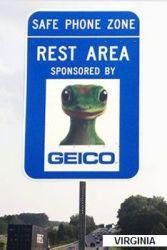 GEICO sign-VA