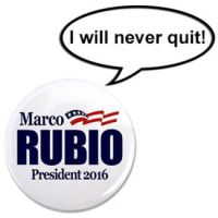 Rubio Button Never Quit