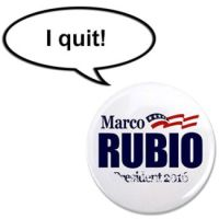 Rubio Button Quit