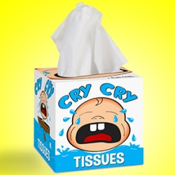 Cry Cry Kleenex Box