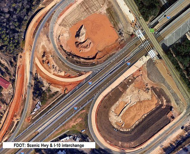 FDOT - Scenic Hwy-I10 interchange
